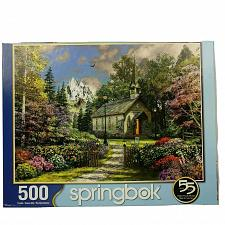 Buy Springbok 500 Piece Puzzle Mountain View Chapel Church Complete