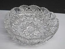 Buy Cut glass ABP low bowl blown blank Antique