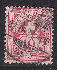 Buy SCHWEIZ SWITZERLAND [1882] MiNr 0054 X b ( O/used )