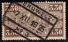 Buy Belgium #Q161 Parcel Post & Railway; Used (1.40) (2Stars) |BELQ161-02XBC