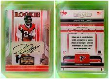 Buy NFL Jimmy Williams Atlanta Falcons Autographed 2006 Donruss Gridiron Gear /250