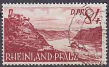 Buy GERMANY Alliiert Franz. Zone [RheinlPfalz] MiNr 0028 y ( O/used )