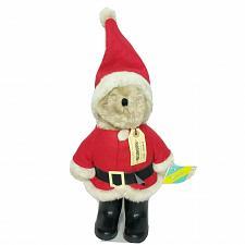 "Buy Rare NWT VTG Eden Paddington Santa Claus Teddy Bear 1983 Christmas Plush 19"""