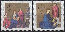 Buy GERMANY BUND [1994] MiNr 1770-71 ( O/used ) Weihnachten