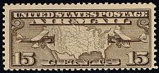 Buy US #C8 Mail Planes and Map; MNH (2Stars)  USAC008-07XRP