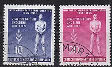 Buy GERMANY DDR [1955] MiNr 0459-60 ( O/used )