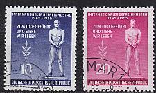 Buy GERMANY DDR [1955] MiNr 0459-60 ( O/used )