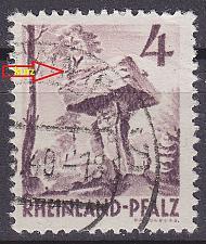 Buy GERMANY Alliiert Franz. Zone [RheinlPfalz] MiNr 0033 y a III ( O/used )