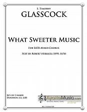 Buy Glasscock - What Sweeter Music