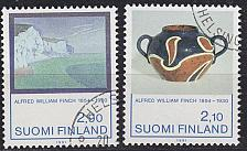 Buy FINLAND SOUMI [1991] MiNr 1146-47 ( O/used ) Kunst