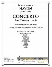 Buy Hayn - Haydn Trumpet Concerto for Band - 2nd Mvt.