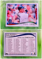Buy MLB MIGUEL CABRERA DETROIT TIGERS 2014 TOPPS SERIES 1 #149 MINT