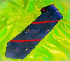 Buy Authentic Tommy Hilfiger Designer Men's 100% Silk Golf Tie