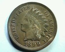 Buy 1899 S30 18/18(s) 9/9(n) INDIAN CENT PENNY UNCIRCULATED OLD CLEANING NOW RETONED