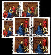 Buy GERMANY BUND [1994] MiNr 1770-71 4er ( O/used ) Weihnachten