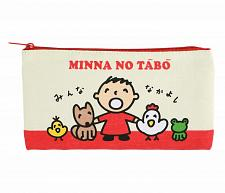 Buy New Hello Kitty Minna No Tabo Flat Pencil Pouch Classic Free Shipping