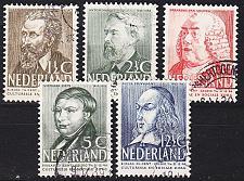 Buy NIEDERLANDE NETHERLANDS [1939] MiNr 0327-31 ( O/used )