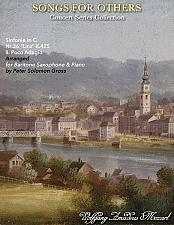 Buy Mozart - Adagio from the Linz Symphony for Baritone Saxophone and Piano