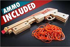 Buy New Pump-Action Rubber Band Shotgun gun Free Bands Ammo + Free Shipping