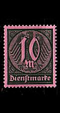 Buy GERMANY REICH Dienst [1921] MiNr 0068 a ( **/mnh )