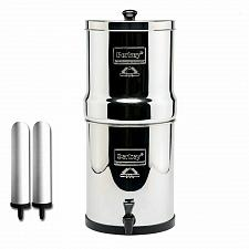 "Buy New Big Berkey System with 9"" Super Sterasy Ceramic Filters (2.25 gal)"