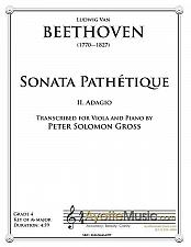 Buy Beethoven - Adagio from the Pathetique Sonata for Viola and Piano