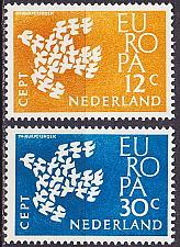 Buy NIEDERLANDE NETHERLANDS [1961] MiNr 0765-66 ( **/mnh ) CEPT