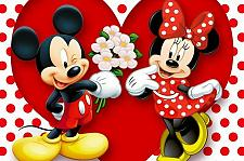 "Buy Walt Disney's MICKEY & MINNIE 24""x 36"" Collectable Poster NEW"