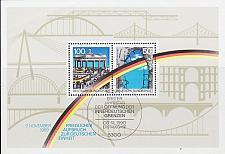 Buy GERMANY BUND [1990] MiNr 1481-82 Block 22 ( Sonder-O/used )
