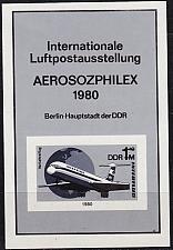 Buy GERMANY DDR [1980] MiNr 2520 Block 59 SD ( oG/no gum ) Flugzeuge