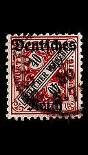 Buy GERMANY REICH Dienst [1920] MiNr 0062 ( O/used )