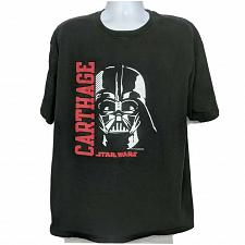Buy Star Wars Darth Vader Champion Carthage T-Shirt XXL Black Short Sleeve