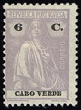 Buy Cape Verde #183A Ceres; Unused (2Stars) |CPV0183A-03XRS