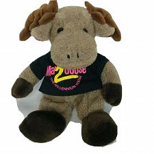 Buy Woolie Wally The Millennium Moose Brown Plush Stuffed Animal 14.5""