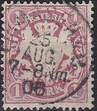 Buy GERMANY Bayern Bavaria [1881] MiNr 0053 y a ( O/used )
