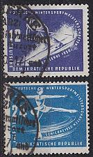 Buy GERMANY DDR [1950] MiNr 0246-47 ( O/used ) [01] Sport