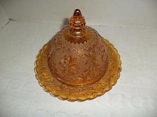 Buy Tiara Indiana Amber Butter Dome
