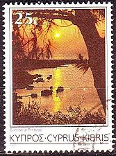 Buy ZYPERN CYPRUS [1985] MiNr 0636 ( O/used ) Landschaft