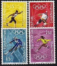 Buy LIECHTENSTEIN [1971] MiNr 0551-54 ( **/mnh ) Sport
