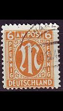Buy GERMANY Alliiert AmBri [1945] MiNr 0020 D ( O/used )