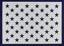 "Buy 50 Star Field Stencil 14 Mil -19.2 G-Spec"" - Painting /Crafts/ Templates"