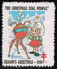 Buy Christmas Seal **U-Pick** Stamp Stop Box #155 Item 73 (Stars) |USS155-73