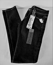 Buy PAPAYA womens PREMIUM Sz 5 W28 L30 black denim dark wash STRETCH jeans NWT (B5)P