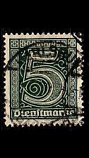 Buy GERMANY REICH Dienst [1920] MiNr 0023 ( O/used )