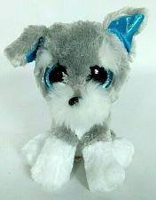 "Buy Ty Beanie Boo Whiskers Schnauser Dog Glitter Eyes Plush Animal 2015 6.5"""