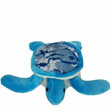 "Buy Fiesta Blue Camo Seaturtle Ocean Plush Stuffed Animal A51810 11"""