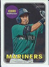 Buy Ichiro 2018 Topps Heritage High Numbers SP
