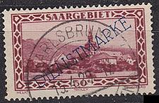 Buy GERMANY Saar [Dienst] MiNr 0018 ( O/used )