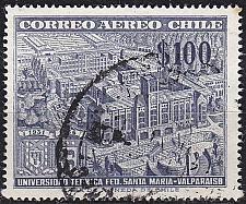 Buy CHILE [1956] MiNr 0522 ( O/used ) Architektur