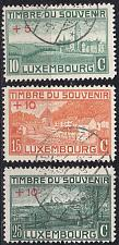Buy LUXEMBURG LUXEMBOURG [1921] MiNr 0137-39 ( O/used )